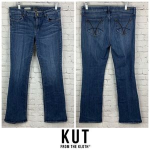 Kut From The Kloth Karen Baby Bootcut Jeans 👖